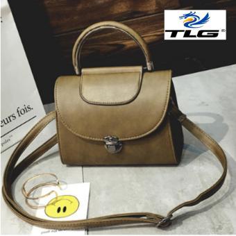 Túi đeo chéo phong cách Hàn Quốc Thành Long TL8097-3(xám)