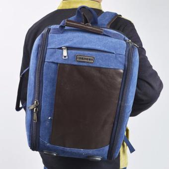 Balo Laptop Vải Bố Thời Trang Giá Rẻ BL132 Muasamhot