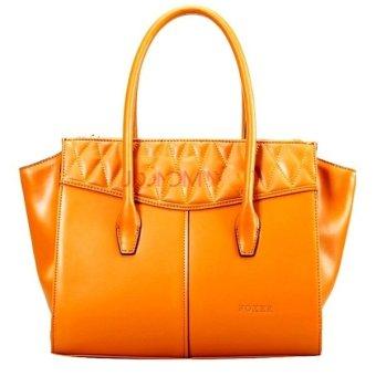 Túi xách thời trang cao cấp Foxer 939013F11 (Cam)