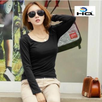 Áo Thun Thời Trang Phong Cách Hàn Quốc HQ 3TI54 1 (đen)