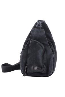Satchel Military Bag bag Shoulder Black - intl