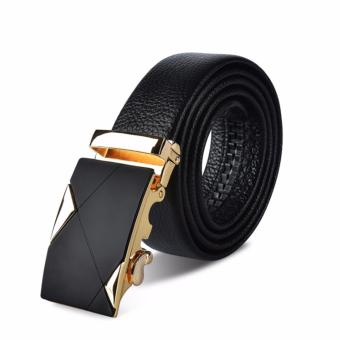 Dây lưng nam thời trang phong cách Quý Ông ROT017 (Vàng) - 3711714