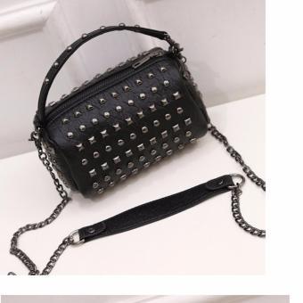Túi xách thời trang dạng trống LVH-2(đen)
