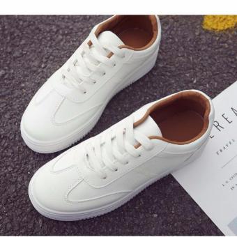 Giày thể thao nữ Hàn Quốc màu trắng 36 -AL