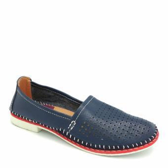 Giày đế bằng mũi tròn 333020-178-13 (xanh dương)