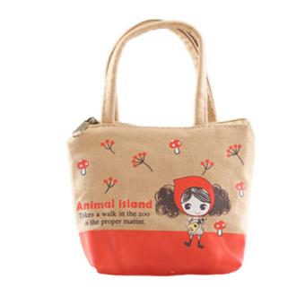Fancyqube New Cute Cartoon Print Shopping Bag Handbag 03 (Intl)