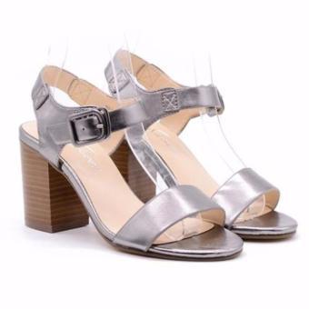 Sandal cao gót Evashoes Eva0668 Bạc