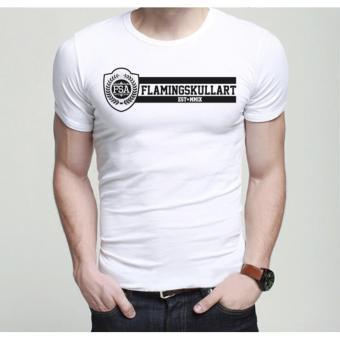 Áo thun Nam HQ Logo FSA Cực hot TB010 (TRẮNG)