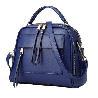 Túi xách nữ Túi xách Túi Bolsas Túi đeo vai (Blue)