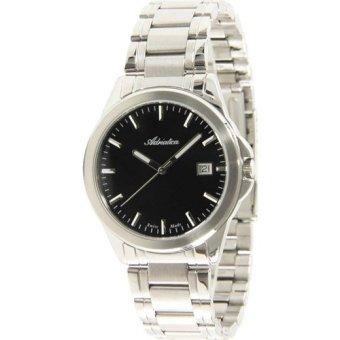 Đồng hồ nam dây kim loại Adriatica A1162.5114Q (Trắng Đen)