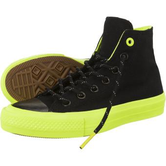 Giày thời trang nam Converse 153533C (Đen xanh neon).