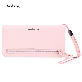 Baellerry Wrist Wallet Phone Pocket(Pink) - intl
