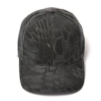 Men Women Camo Caps Adjustable Velcro Military Hunting Fishing Army Baseball Hats - Intl