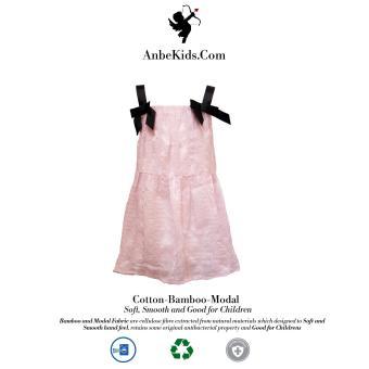 Baby Pink Strap Dress 100-104 cm
