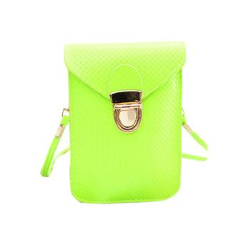 Women Mini Shoulder Bag Satchel Cross Body Purse Messenger Tote Handbag Green - Intl