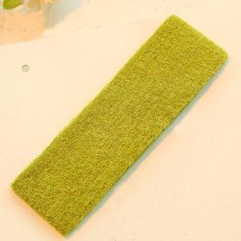Moonar Yoga hair lead cloth towels, sweat absorbing (3 army green) - intl