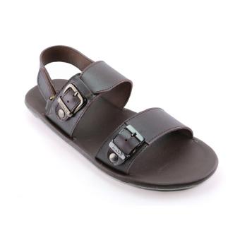 Giày Sandals Nam F058 (Nâu)