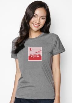 Áo Thun In Hình S Is For Sushi Suvi SuviT01120145 (Xám)