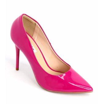 Giày nữ Sata&Jor SJ0022 - Hồng bóng
