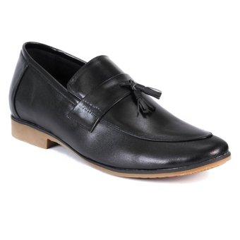 Giày lười tăng chiều cao SMARTMEN GL-222 (Đen)