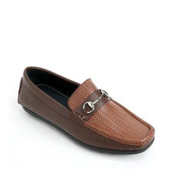 Giày mọi nam 6014 - Nâu
