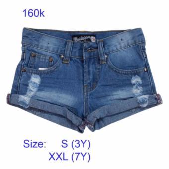 Quần short jeans bé gái hàng Thailand