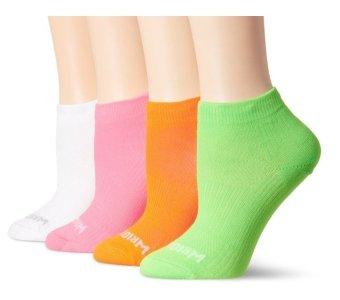 Bộ 4 đôi tất chạy bộ cao cấp WrightSock Women's Coolmesh II Lo Four-Pack Running Socks (Mỹ)