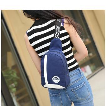 Túi đeo chéo nữ phong cách HARAS HRLD105 (XANH)