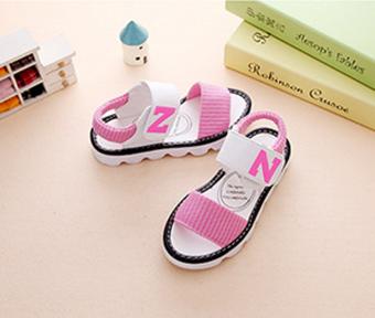 Giày sandal bé gái Z-82 (Hồng)