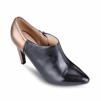 Giày cao gót D CAROLINE A (Vàng & Đen)