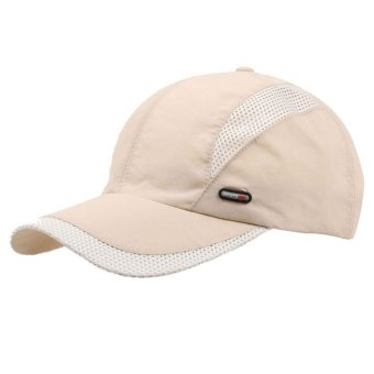 Outdoor Sunscreen Cap Beige