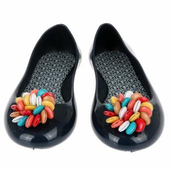 Giày Búp Bê Faux Pas Kids Opera Flat Smarties (Xanh Dương Đậm)