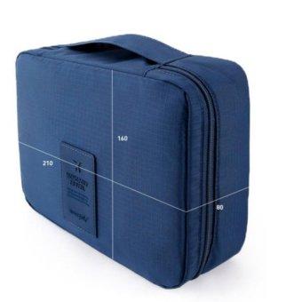 Túi du lịch đựng đồ cá nhân dành cho Nam- chodeal24h.vn (Xanh đậm)