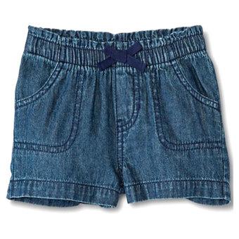 Quần short bé gái Circo (xanh jeans)