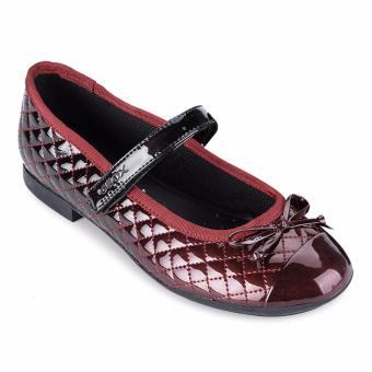 Giày búp bê trẻ em J PLIE' D (Đỏ & Đen)