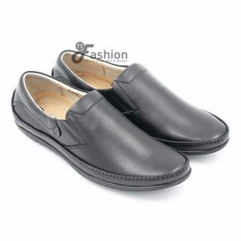 Giày nam da thật GM234 (Đen)
