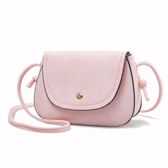 Túi đeo chéo thời trang cao cấp HMT03-1 (Hồng) - Loại 1