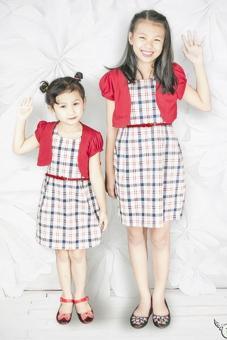 Set Đầm Áo Khoác Genii Kids (Đỏ)