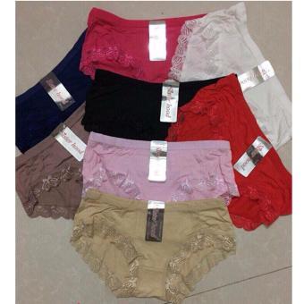 Bộ 8 quần lót nữ cotton phối ren viền SH6652