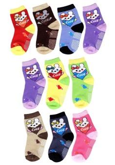 Bộ 10 đôi tất vớ trẻ em từ 5-8 tuổi bé gái SoYoung 10SOCKS 003 5T8 GIRL