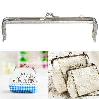 Sewing Purse Handbag Handle Coins Bags (Silver) - Intl