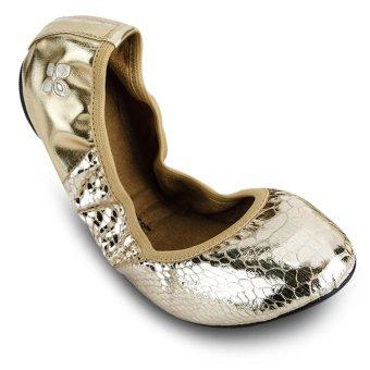 Giày búp bê nữ VIVIENNE METALLIC BT1036-006 (Vàng)