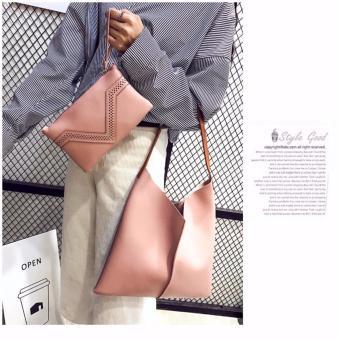 Bộ đôi túi và ví cầm tay cao cấp(hông)