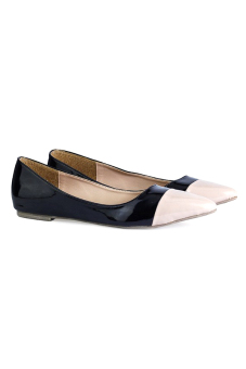 Giày cao gót nữ LARA HMF891 (Đen kem)