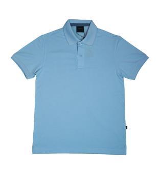 Áo thun polo Milvus màu xanh da trời