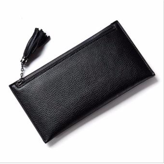 Bóp ví nữ thời trang Weichan chính hãng F551-5 Win Win Shop (Đen)