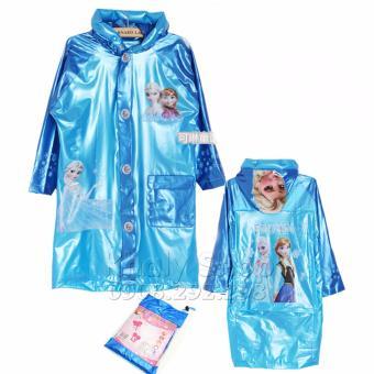 Áo mưa hình công chúa ELSA và ANNA FROZEN dành cho trẻ em , học sinh và các bé có nhiều size (S-M-XL-XXL) - AMFZ6026B