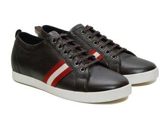 Giày tăng chiều cao nam Grando TT50 5cm (Nâu)