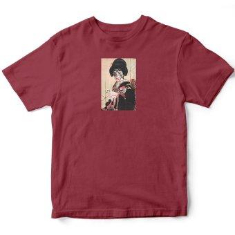 Áo Thun Nữ Geisha (Đỏ)