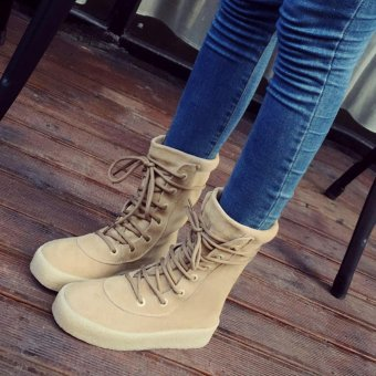 Handmade Winter Crepe Bottom Women Boots Casual Season Fashion Boots - intl